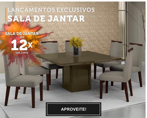 Móveis Ofertas Mpozenato - Sala de Jantar