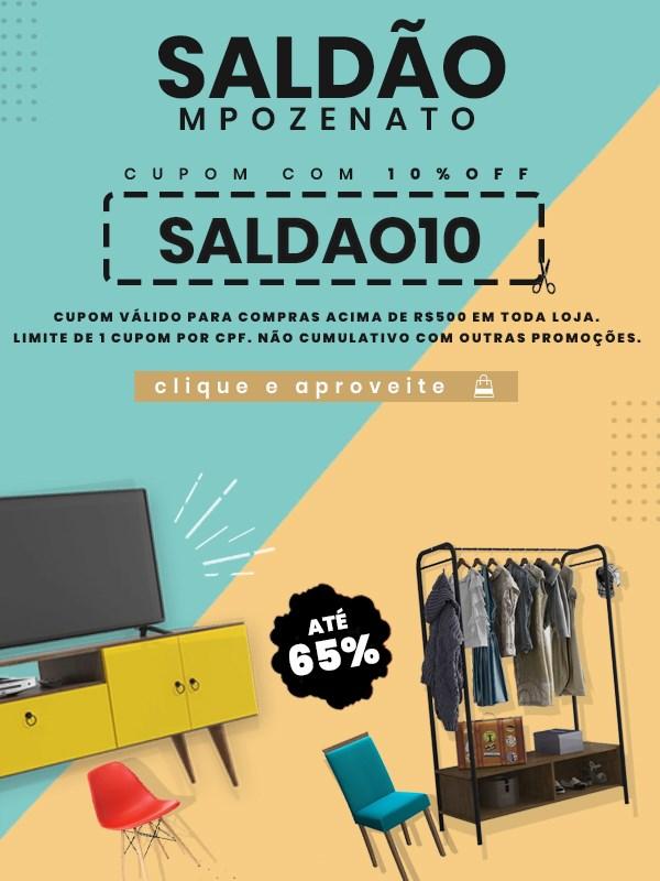 Saldão 10% OFF Mpozenato - Mobile
