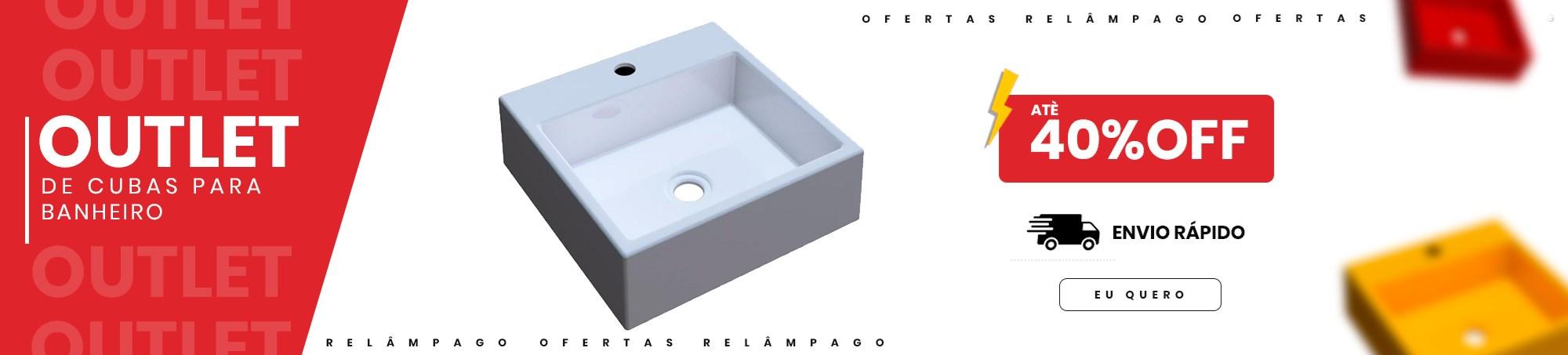 Cuba para Banheiro - Mpozenato