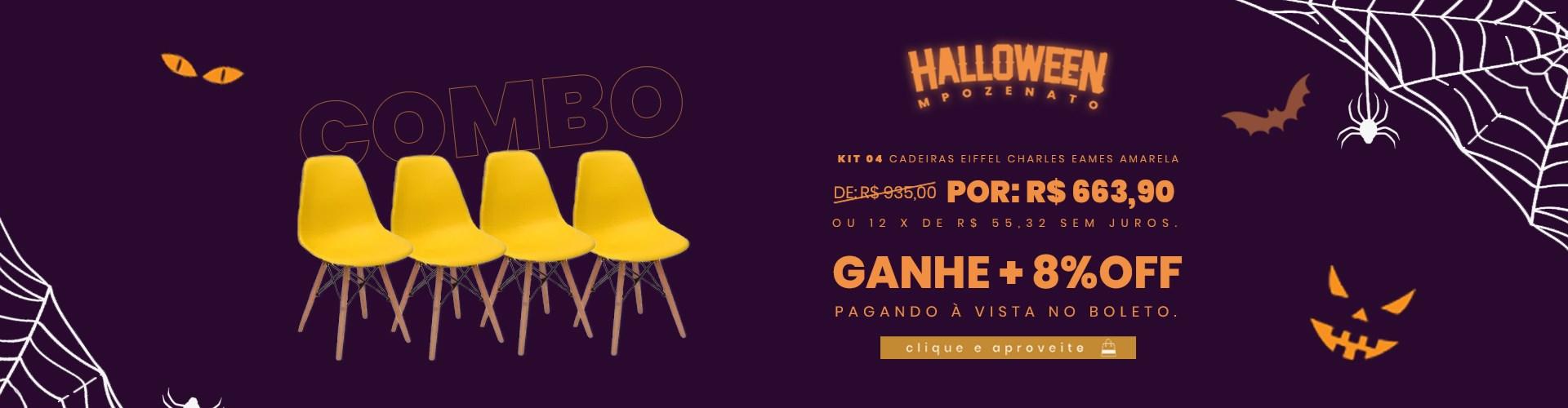 HALLOWEEN MPOZENATO - CADEIRAS