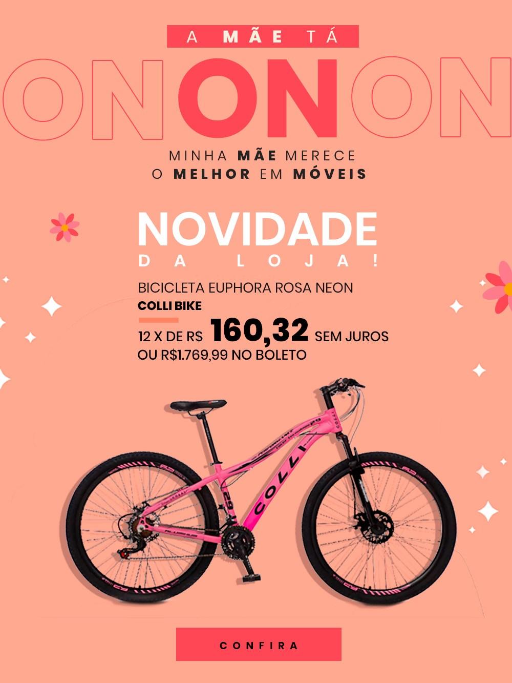 Dia das Mães Mpozenato - Bicicleta