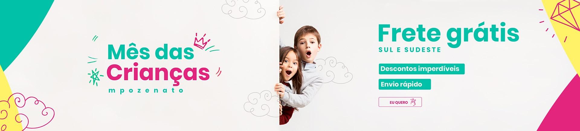 Frete Grátis Mês das Crianças - Mpozenato Móveis