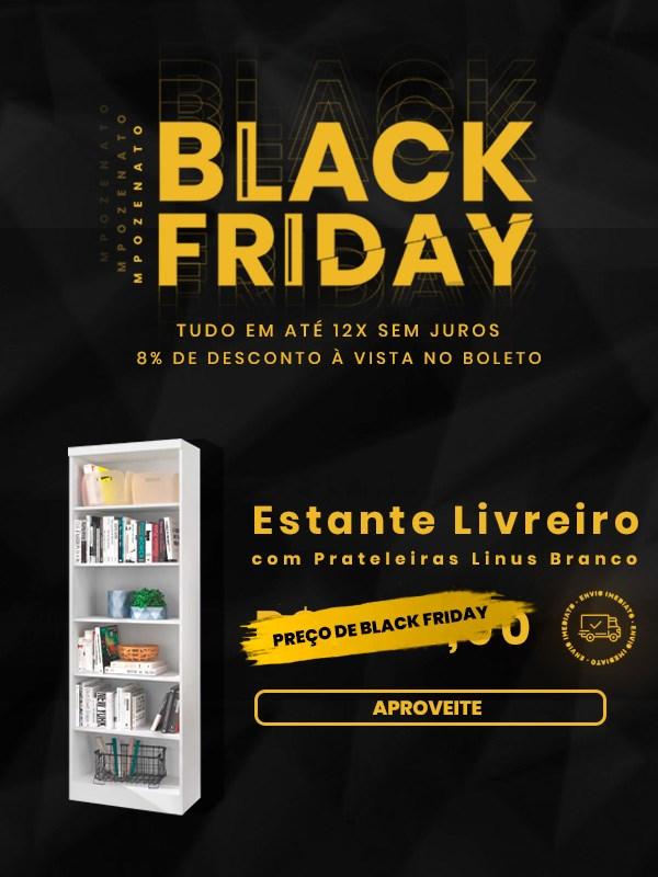Estante Linus - Black Friday - Mpozenato