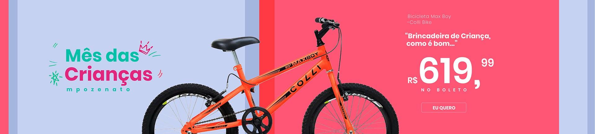 Bicicleta Max Boy - Desk