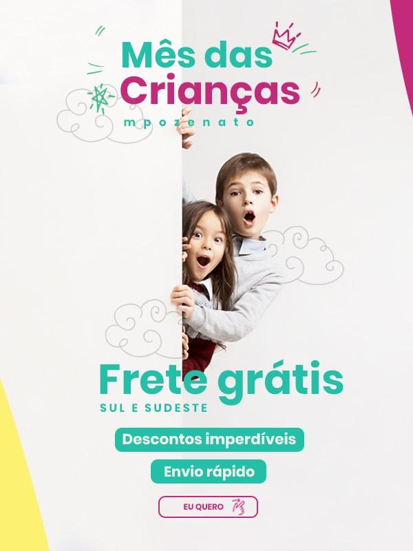 Frete Grátis - Mês das Crianças Mpozenato Móveis
