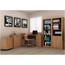 Ambiente para Home Office 05 Peças Amêndoa - Tecno Mobili
