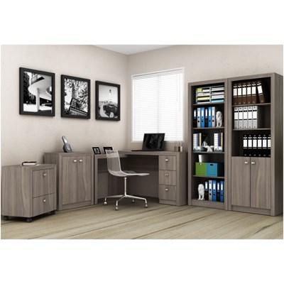 Ambiente para Home Office 05 Peças Carvalho - Tecno Mobili
