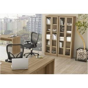Ambiente para Home Office 06 Peças Amendoa – Tecno Mobili