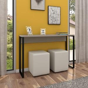 Aparador para Sala de Estar Studio Industrial M18 Carvalho Bruma – Mpozenato