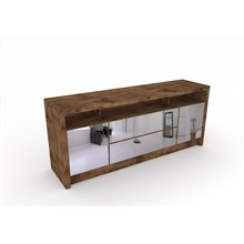 Aparador para Sala de Jantar Buffet com Espelhos TB277E Nobre - Dalla Costa