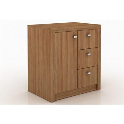 Armário 03 Gavetas e 01 Porta para Home Office ME4111 Amendoa – Tecno Mobili
