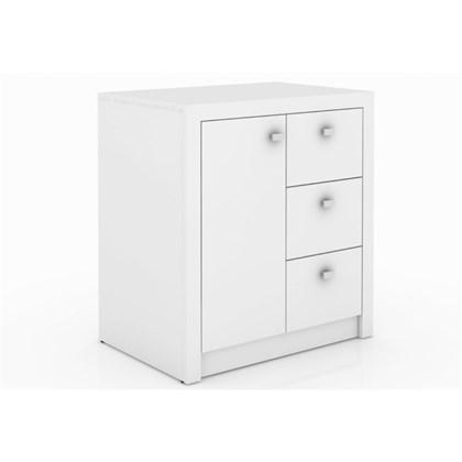 Armário 03 Gavetas e 01 Porta para Home Office ME4111 Branco – Tecno Mobili
