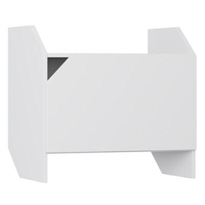 Armário Aéreo Suspenso Soul 1002 1 Porta Branco - BE Mobiliário