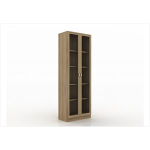 Armário com 04 prateleiras para Home Office ME4115 Amendoa – Tecno Mobili