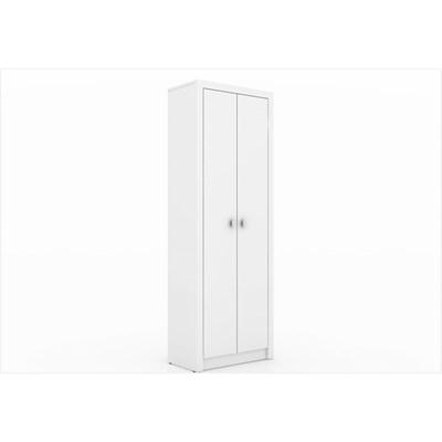 Armário de 171,5 cm para Home Office 02 Portas ME4105 Branco – Tecno Mobili