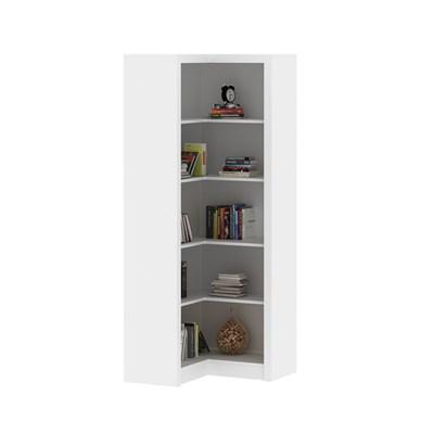 Armário de Canto Para Escritório ME4132 Branco - Tecno Mobili