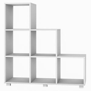 Armário em L para Cozinha 6 nichos BMU 119 Branco – BRV Móveis