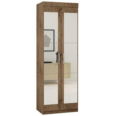 Armário Multiuso 2 Portas com Espelho 7020 Demolição - Araplac