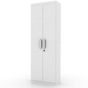 Armário Multiuso Organizador 2 Portas Delta Branco - Lukaliam Móveis