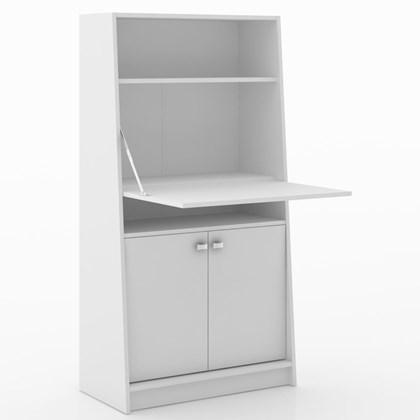 Armário Multiuso Para Escritório ME4136 Branco - Tecno Mobili