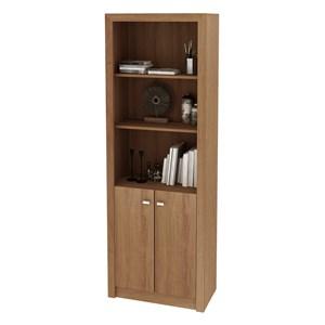 Armário Organizador para Home Office de 171,5 cm de Altura ME4110 Amendoa – Tecno Mobili