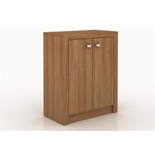 Armário para Home Office com 02 Portas ME4103 Amendoa - Tecno Mobili