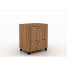 Armário para Home Office ME4112 com Rodízios Amendoa – Tecno Mobili