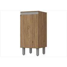 Balcão 1 Porta 35 cm com Tampo Integra Rústico - Henn