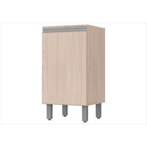 Balcão 1 Porta 40 cm com Tampo Connect Creme - Henn