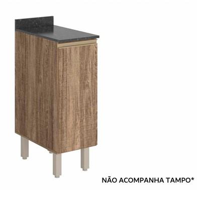 Balcão 30cm 1 Porta Kali Premium 3101.16 Carvalho Rústico - Nicioli