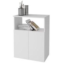 Balcão Baixo Office BHO22 2 Portas Branco - BRV