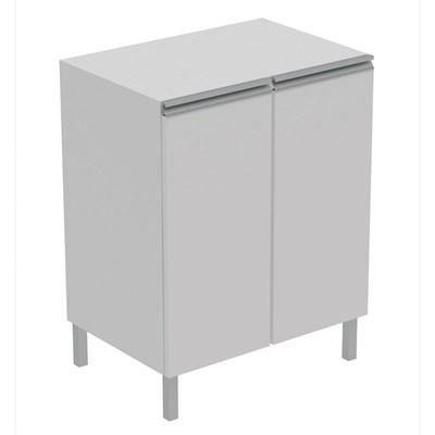 Balcão para Cozinha 2 portas BMU 33 Branco – BRV Móveis