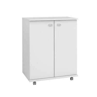 Balcão para Cozinha com Rodízios BL3300 Branco – Tecno Mobili