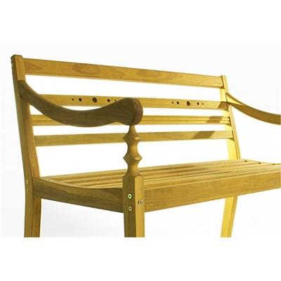 Banco 2 Lugares Varanda Stain Amarelo - Mão & Formão