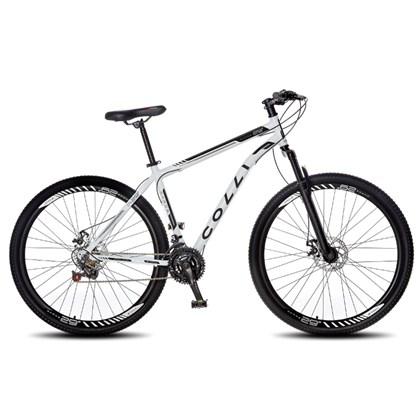 Bicicleta Athena Aro 29 Aço 21v Suspensão Dianteira Freio Mecânico Branco - Colli Bike