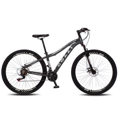 Bicicleta Euphora Aro 29 Alumínio 21v Câmbio Traseiro Shimano Freio Mecânico Preto - Colli Bike