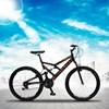 Bicicleta GPS Aro 26 Aço 21 Marchas Dupla Suspensão Freio V-Brake Preto/Laranja - Colli Bike