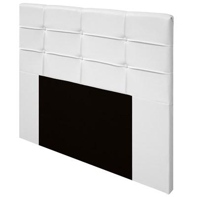 Cabeceira Cama Box Casal 140cm D10 Esmeralda Corano Branco - Mpozenato
