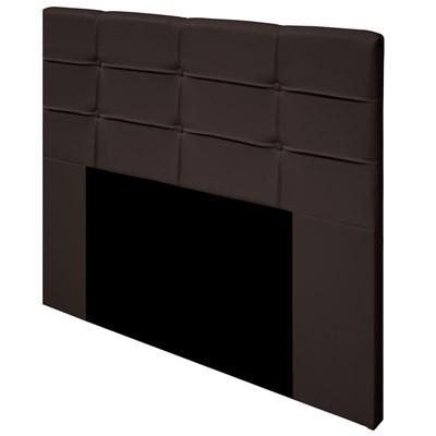 Cabeceira Cama Box Casal 140cm D10 Esmeralda Corano Marrom - Mpozenato