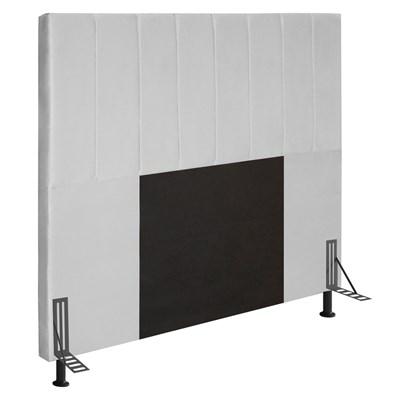 Cabeceira Cama Box Casal 140cm D10 Jade Corano Branco - Mpozenato