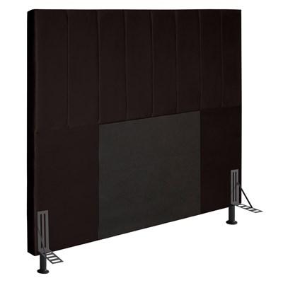 Cabeceira Cama Box Casal 140cm D10 Jade Corano Marrom - Mpozenato