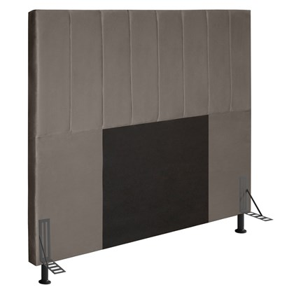 Cabeceira Cama Box Casal 140cm D10 Jade Suede Bege - Mpozenato