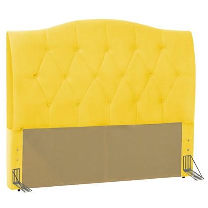 Cabeceira Cama Box Casal King 195 cm Colônia Corano Amarelo - D'Monegatto