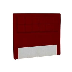 Cabeceira Casal Cama Box 140 cm Giovana Vermelho - Condor Decor