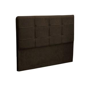 Cabeceira Casal Cama Box 140 cm London Chocolate - JS Móveis