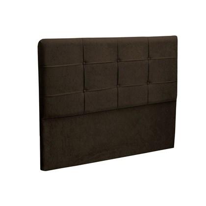 Cabeceira Casal King Cama Box 195 cm London Chocolate - JS Móveis