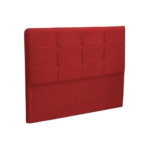 Cabeceira Casal King Cama Box 195 cm London Vermelho - JS Móveis
