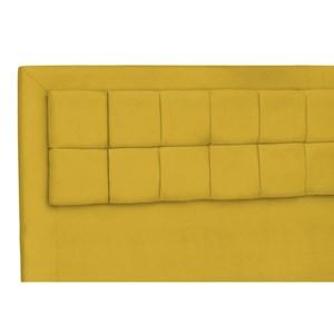 Cabeceira Casal King Cama Box 200 cm Giovana Amarelo - Condor Decor