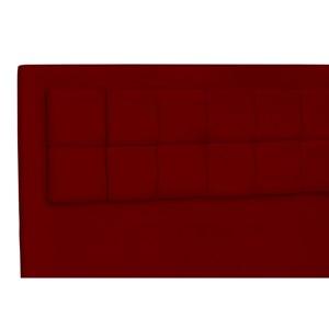 Cabeceira Casal King Cama Box 200 cm Giovana Vermelho - Condor Decor