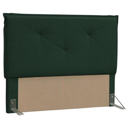 Cabeceira Casal Queen Vic 160cm Suede Verde Musgo - D'Monegatto